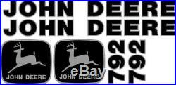 John Deere 792 Excavator Decal Set JD Decals