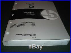 John Deere 80 Excavator Technical Service Shop Repair Manual Book Tm-1656