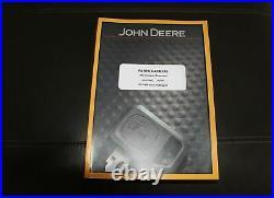 John Deere 85g Compact Excavator Parts Catalog Manual Pc11200