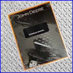 John Deere 890A Excavator Service Repair Technical Manual TM1263