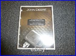 John Deere GT235E Lawn Garden Tractor Repair Service Shop Manual Book TM1756