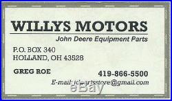 John Deere WATER PUMP REPAIR KIT Backhoe, Loader, Dozer, Excavator kit #5
