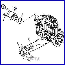 M810324 Fuel Shut Off Solenoid for John Deere Hitachi Excavators 35D 27D 50D 17D