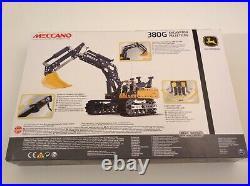 Meccano 17308 Engineering & Robotics 380g John Deere Excavator New & Sealed