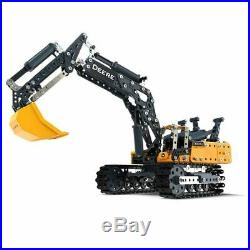 Meccano 380g John Deere Excavator Toy