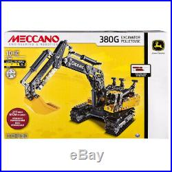 Meccano-Erector John Deere 380G Excavator with Working Hydraulics. Best Price