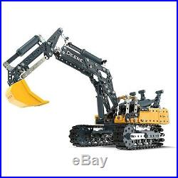 Meccano John Deere 380g Excavator Model Building Kit Stem 725 Piece Age10+ 17308