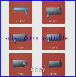 Muffler Silencer 4479646 for John Deere JD180 HITACHI ZAX130 ZAX160 ZAX180 ZX185
