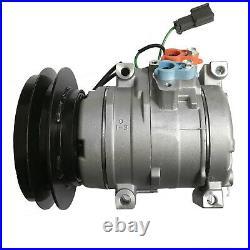 NEW A/C AC Compressor Fits Kobelco John deere Excavator 450CLC, 450DLC 600DLC
