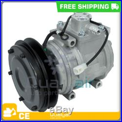 NEW AC Compressor fits JOHN DEERE 200LC EXCAVATOR, 230LC EXCAVATOR, 230LCR EXC