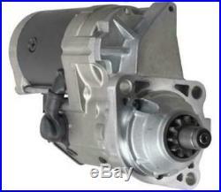 New 11 Tooth Starter Fits Motor John Deere Excavator 240dlc 2554 270clc Re70961