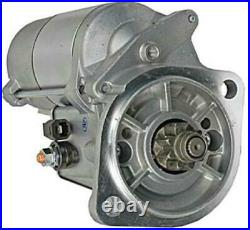 New 12v 9t Starter Fits John Deere Mini Excavator 50c Zts 4le2 Engine 8971128652