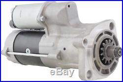 New 24 Volt 13 Tooth Starter Hitachi JCB Case John Deere Excavator 4HK1 Engine