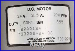 New AR89989 John Deere DC Motor 24V