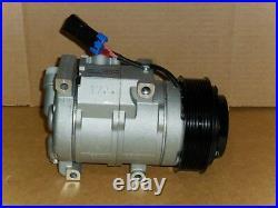 New Ac Compressor Fits John Deere At367640, Se502623, Re284680