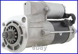 New Gear Reduction Starter 24V for Hitachi Excavator ZX230 with Isuzu 4HK1 Engine