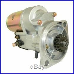 New Starter John Deere Excavator 25 Compact 30 & Yanmar Engine Industrial 3tn78l
