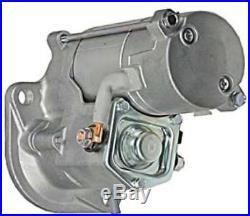 New Starter Motor John Deere Excavator 27c 35c 50c Isuzu 8971128650 228000-3852