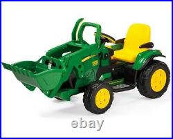 Peg Perego John Deere Ground Loader 12V Ride On Tractor Ages 3 Years+