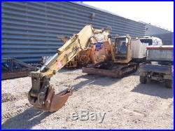 Railroad Maintenance Of Way Mow John Deere 120 Track Excavator