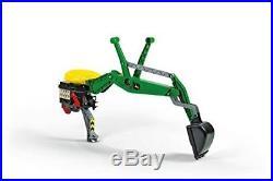 Rolly toys 409358 Franz Cutter John Deere Rear Excavator