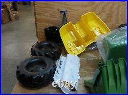 Rolly toys John Deere Pedal Tractor with Working Loader and Backhoe Digger, Yout