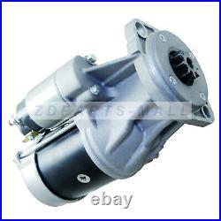 Starter Motor for John Deere 60D 60G Midi Excavator with Yanmar 4TNV98 Engine