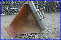 Unused Cws John Deere 200d Excavator V Bucket Bkt Vee Contour