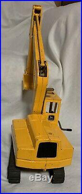 Vintage 116 Ertl John Deer Excavator #690 Diecast 1970s