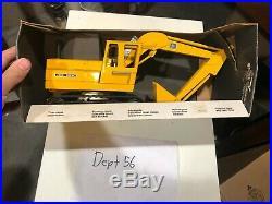 Vintage ERTL John Deere 116 Scale Diecast #505 Farm Tractor Excavator in Box